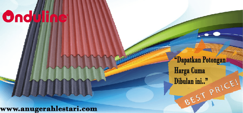 spesifikasi atap onduline