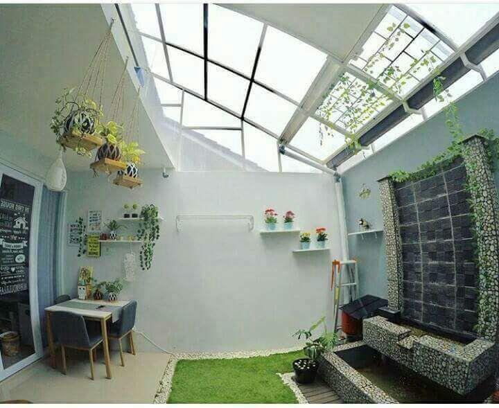 pemasangan atap transparan solartuff