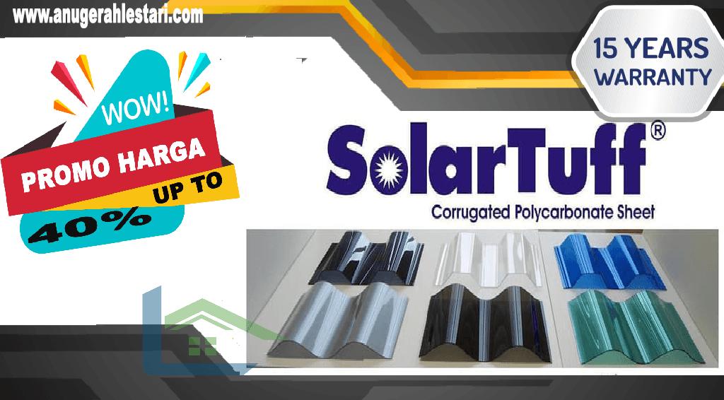 harga atap transparan solartuff